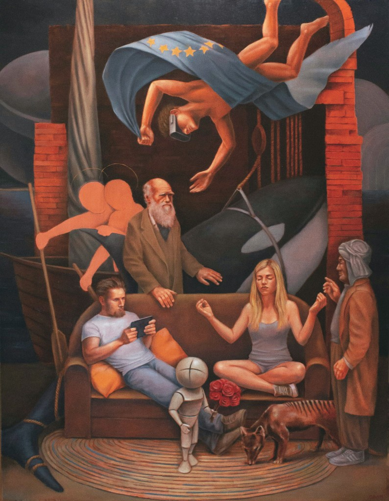 Darwin's Dream (Miracle of St.Markus)140x107cmOil on Canvas